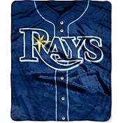 Northwest Tampa Bay Rays Jersey Raschel Throw Blanket