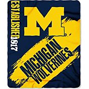 Northwest Michigan Wolverines Painted Fleece Throw