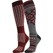 Quest Women's Ski Knee High Socks 2 Pack