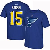 Reebok Men's St. Louis Blues Robby Fabbri #15 Home Player T-Shirt