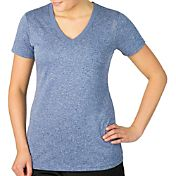 Reebok Women's Plus Size Heather Vector T-Shirt