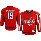 Reebok Youth Washington Capitals Nicklas Backstrom #19 Replica Home Jersey