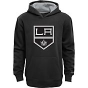 Reebok Youth Los Angeles Kings Black Prime Pullover Hoodie