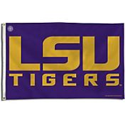 Rico LSU Tigers Purple Block Letter Banner Flag