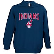 Soft As A Grape Toddler Cleveland Indians Navy Hoodie