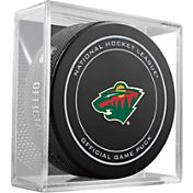 Sher-Wood Minnesota Wild Official Game Puck