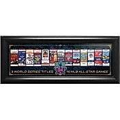 Boston Red Sox David Ortiz Final Season Tickets to History Framed Print