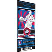 That's My Ticket Los Angeles Clippers Chris Paul Artist Series Canvas Ticket