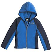 The North Face Toddler Boys' Glacier Full Zip Hooded Fleece Jacket