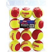 Tourna Kids' Stage 3 Low Compression Balls - 12 Ball Pack