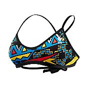 TYR Women's Whaam Cross Cut Tie Back Swimsuit Top