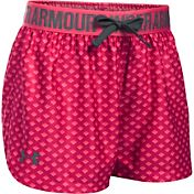 Under Armour Girls' Printed Play Up Shorts