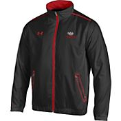 Under Armour Men's Wisconsin Badgers Black/Red Impulse Jacket