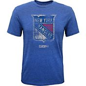 Reebok Youth New York Rangers Retro Logo T-Shirt