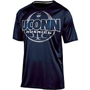 Champion Men's Connecticut Huskies Blue Impact Basketball T-Shirt
