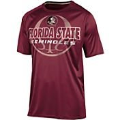 Champion Men's Florida State Seminoles Garnet Impact Basketball T-Shirt
