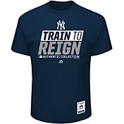 Majestic Men's New York Yankees 2017 Spring Training Authentic Collection Navy T-Shirt