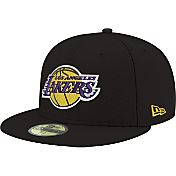 New Era Men's Los Angeles Lakers 59Fifty Black Fitted Hat