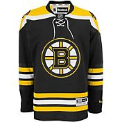 Reebok Men's Boston Bruins Premier Replica Home Blank Jersey