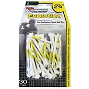 Pride Sports 2.75' Evolution Golf Tees – 30-Pack