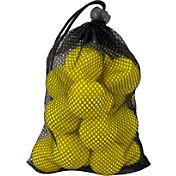 Maxfli Yellow Foam Balls & Mesh Bag – 18-Pack
