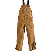 Carhartt Men's Duck Flame Resistant Unlined Bib Overalls