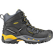 "KEEN Men's Pittsburgh 6"" Waterproof Steel Toe Work Boots"