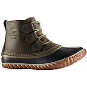 SOREL Women's Out N About Waterproof Leather Boots