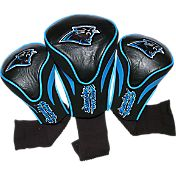 Team Golf Carolina Panthers Contour Headcovers - 3-Pack
