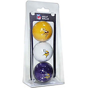 Team Golf Minnesota Vikings Golf Balls – 3 Pack