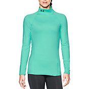 Under Armour Women's ColdGear Infrared Evo Mock Neck Shirt