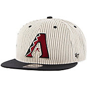 '47 Men's Arizona Diamondbacks Woodside Captain Pinstripe Adjustable Hat