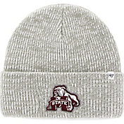 '47 Men's Mississippi State Bulldogs Heathered Grey Brain Freeze Cuffed Knit