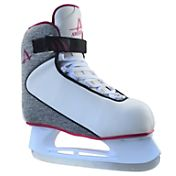 American Athletic Shoe Women's Plum Soft Boot Hockey Skates