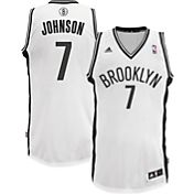 adidas Men's Brooklyn Nets Joe Johnson #7 White Swingman Jersey