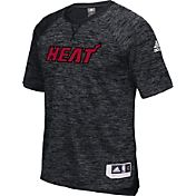 adidas Men's Miami Heat On-Court Black Shooting Shirt