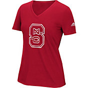 adidas Women's NC State Wolfpack Red Triax Performance T-Shirt