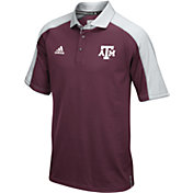 adidas Men's Texas A&M Aggies Maroon/Grey Sideline Performance Polo