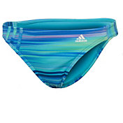 adidas Women's Gradient Stripe Hipster Swimsuit Bottom