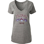 adidas Women's Colorado Rapids Grey Tri-Blend T-Shirt