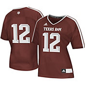 adidas Women's Texas A&M Aggies #12 Maroon Replica Football Jersey