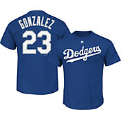 Majestic Youth Los Angeles Dodgers Adrian Gonzalez #23 Royal T-Shirt