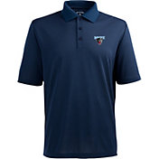 Antigua Men's Maine Black Bears Navy Xtra-Lite Polo
