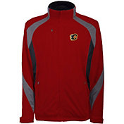 Antigua Men's Calgary Flames Tempest Red Full-Zip Jacket