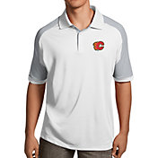 Antigua Men's Calgary Flames Century White Polo