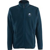 Antigua Men's Buffalo Sabres Navy Full-Zip Ice Jacket