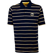 Antigua Men's Buffalo Sabres Deluxe Navy Polo Shirt
