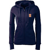 Antigua Women's Syracuse Orange Full-Zip Blue Hoodie