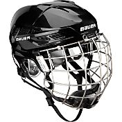 Bauer Senior IMS 7.0 Ice Hockey Helmet Combo