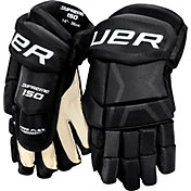 Bauer Youth Supreme 150 Ice Hockey Gloves